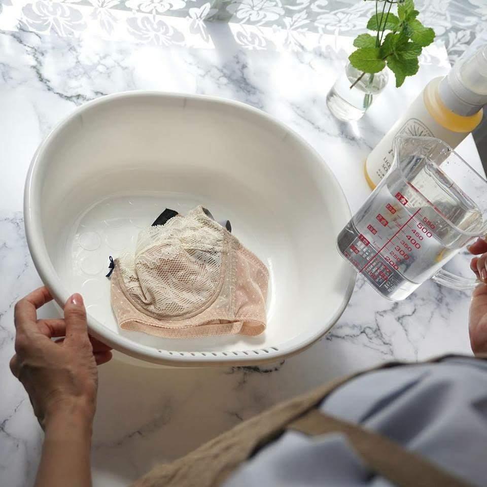 洗濯の水の量