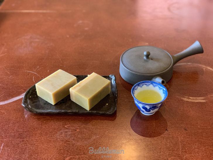 ふりゅうのお茶石鹸