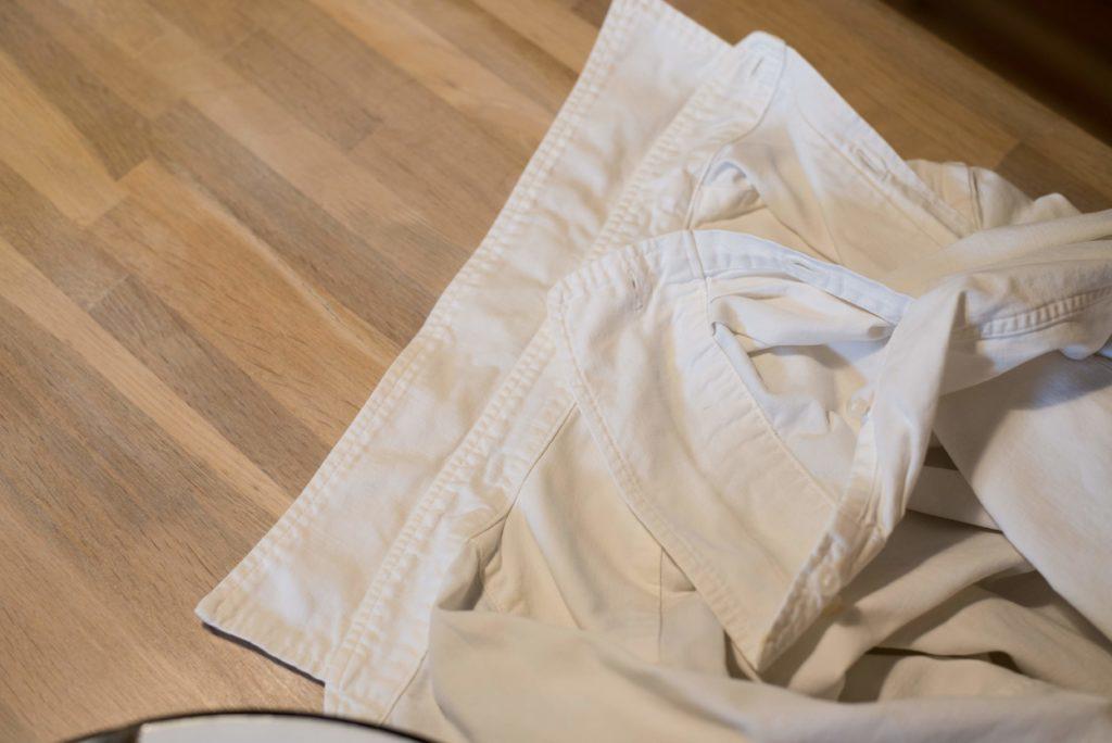 襟垢汚れ対策