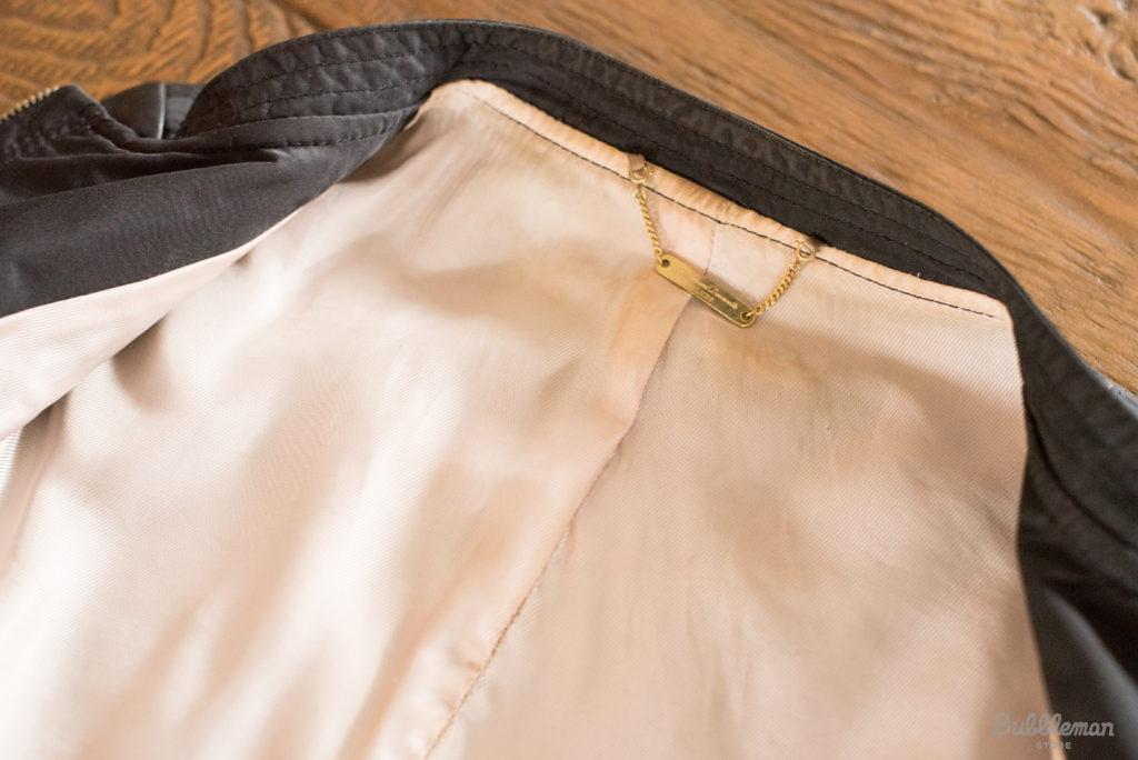 レザーの洋服の汚れ