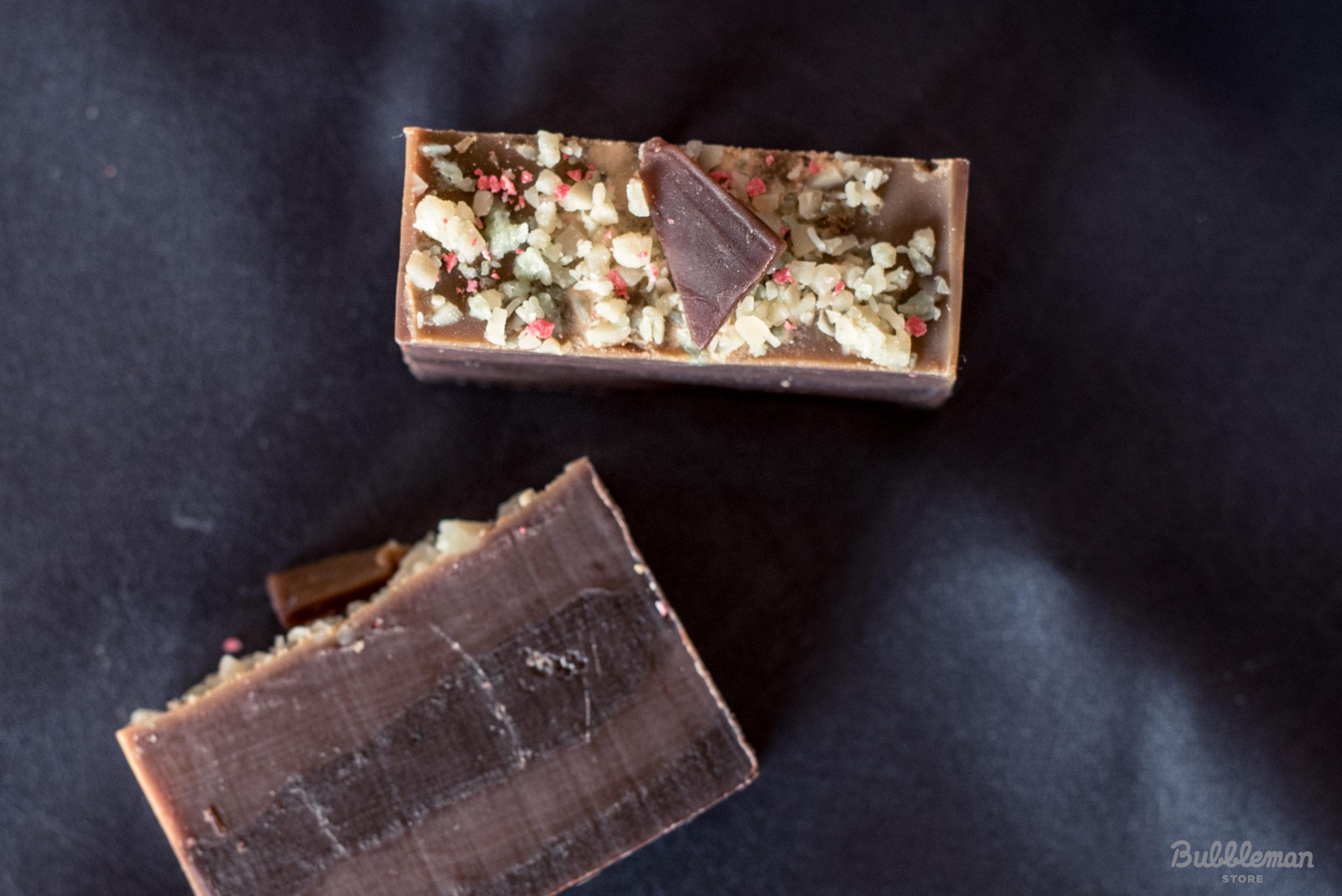 冬のチョコレート石鹸3