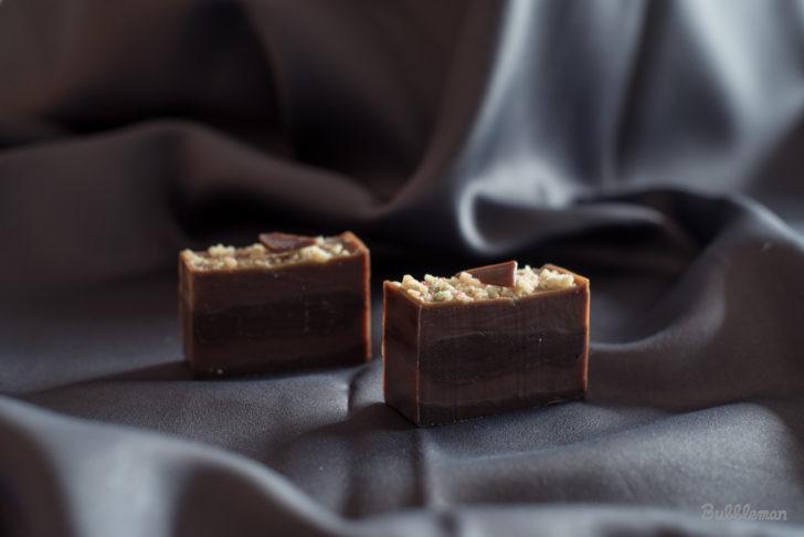 冬のチョコレート石鹸