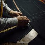 洋服を作る職人