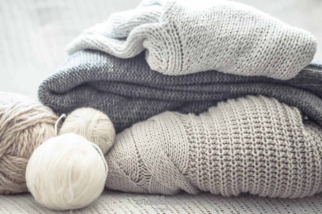 カシミヤのセーターやニット